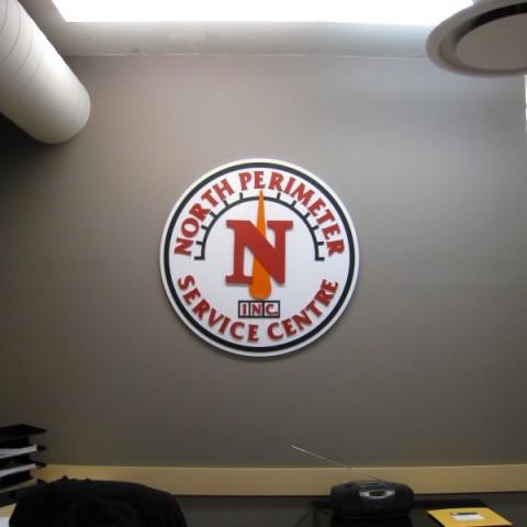 Indoor Corporate Sign