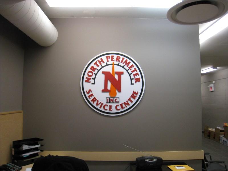 Office Logo Sign winnipeg
