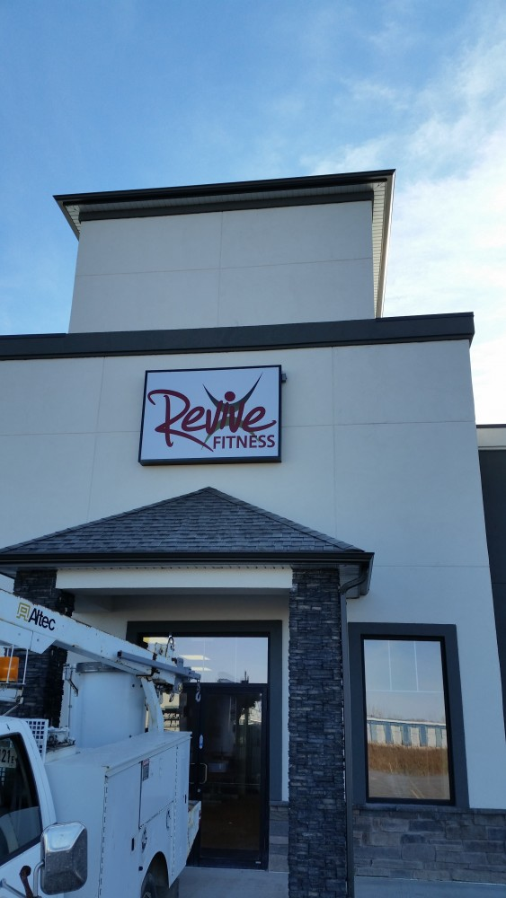 Store Front Sign Winnipeg