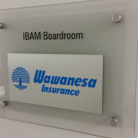 Office Room Sign
