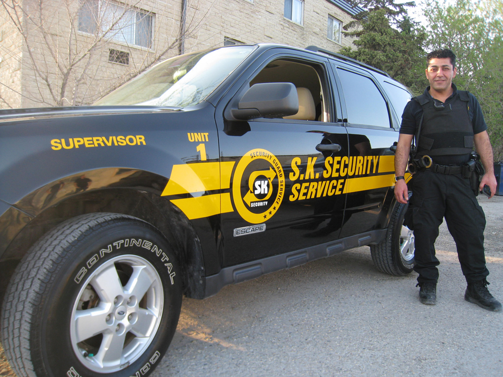 Security-Vehicle-Decals winnipeg