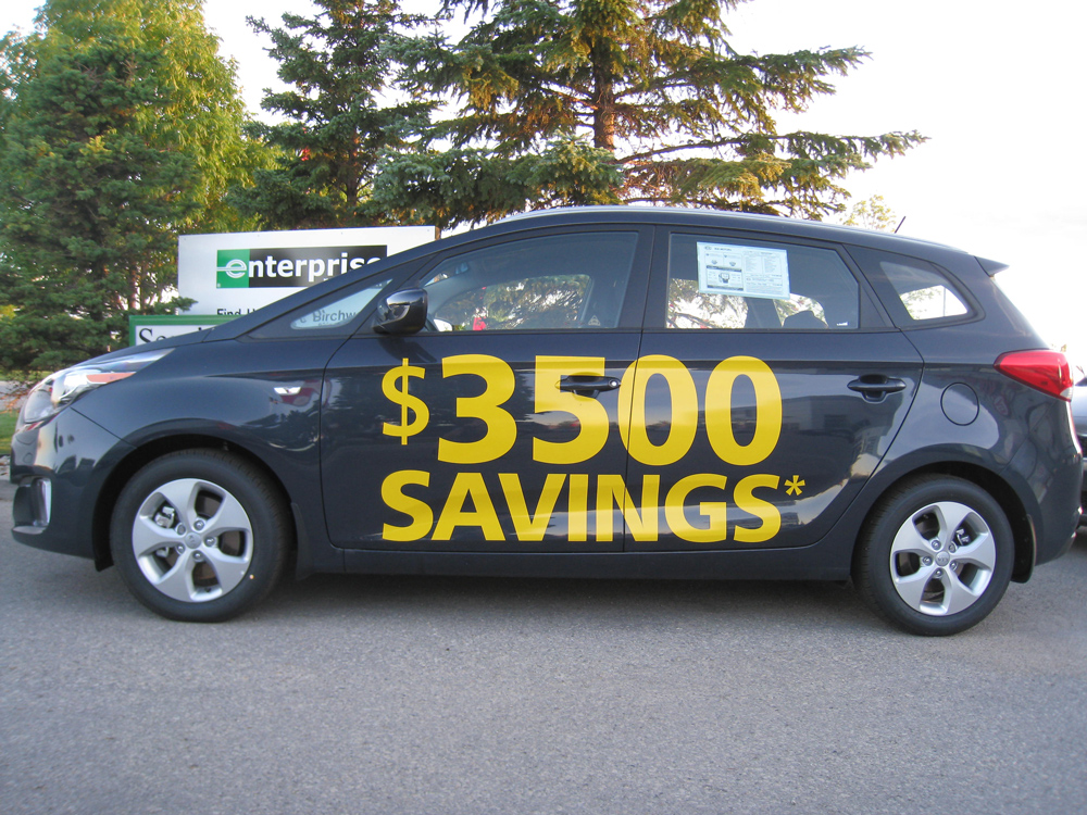 Vehicle-Pricing-Decals winnipeg