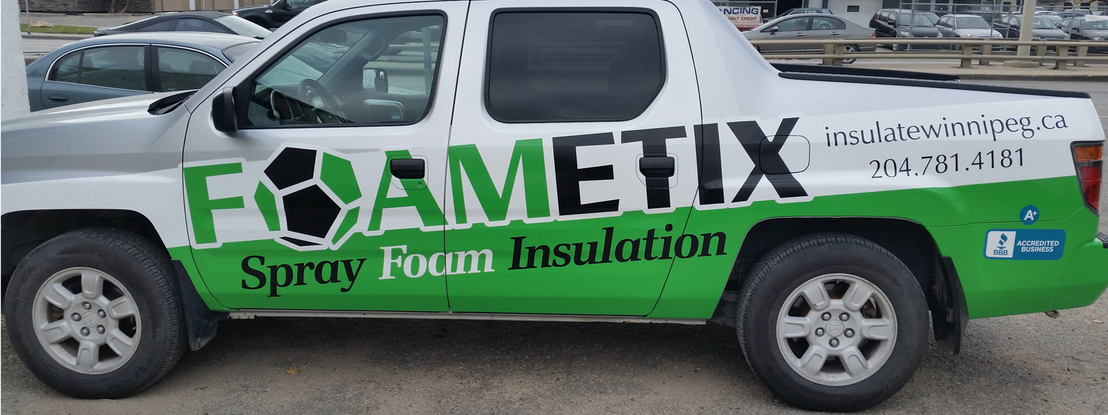 Winnipeg Vehicle Wraps & Decals