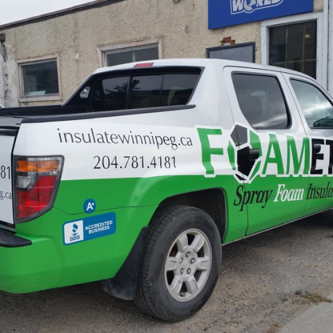 Commercial Truck Wrap